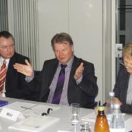 Rainer Kühn, Klaus Wolf, Dr. Elfriede Regelsberger