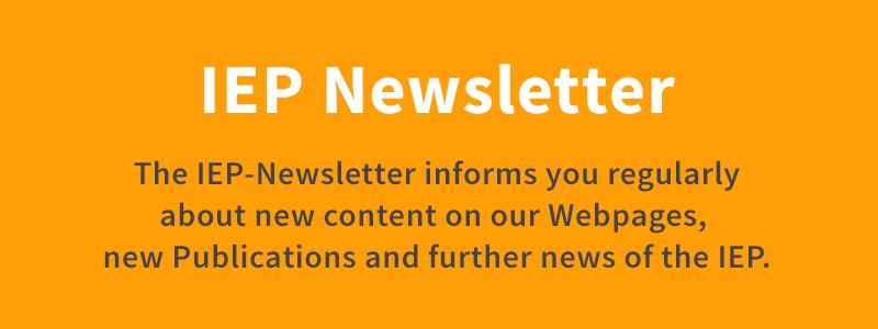 IEP Newsletter