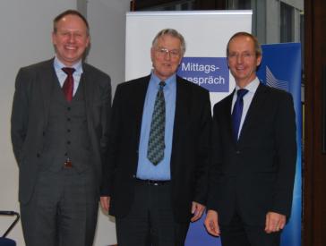 Michael Vollprecht, Prof. Dr. Mathias Jopp and Thomas Westphal