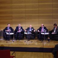 "Mathias Jopp at the panel on ""Russia-European Union relations""  (© Martin Pötzsch)"