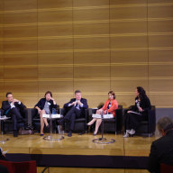 "Panel on ""Development of a European Refugee Policy""  (© Martin Pötzsch)"