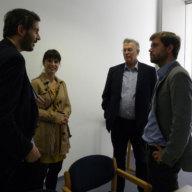 Sebastian Zeitzmann, Angelika Schenk, Mathias Jopp, Richard Steinberg (f.l.t.r.)