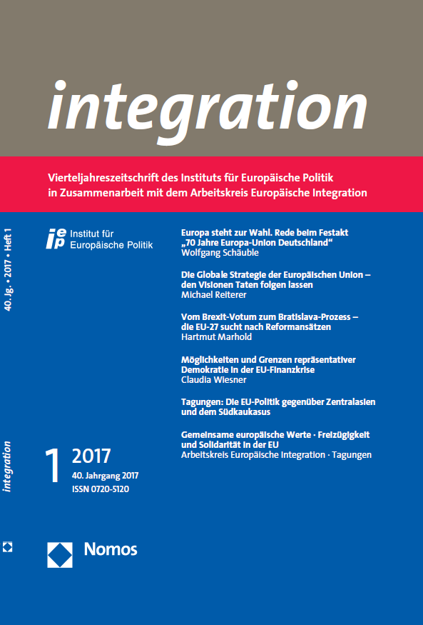 integration 1-2017 Cover