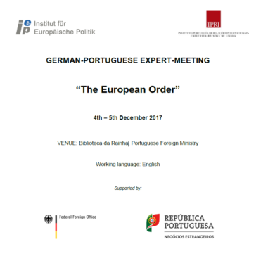 German-Portuguese Expert Meeting on 4 and 5 December in Lisbon ...