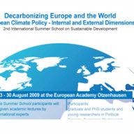 2009 Decarbonizing Europe