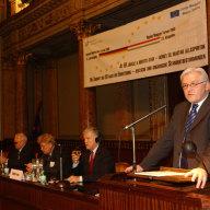 Außenminister Steinmeier plädiert für Einigung über die EU-Finanzen auf dem Brüsseler Gipfeltreffen
