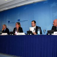 v.l.n.r. Nargiz Gurbanova, Eduard Lintner, Katrin Böttger, Chingiz Askarov, Udo Steinbach