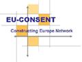 EU-Consent