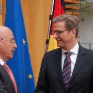 Außenminister Dr. Guido Westerwelle und Außenminister Dr. János Martonyi