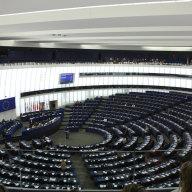 Plenarsaal des Europäischen Parlaments in Straßburg