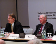 Dr. Mathias Jopp, IEP; Dr. Klaus Scharioth, Staatssekretär, Auswärtiges Amt