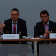 Markus Ederer, Ministerialdirektor, Leiter des Planungsstabs, Auswärtiges Amt, Berlin; Michael Zürn, Dean, Hertie School of Governance, Berlin