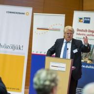 Elmar Brok beim Deutsch-Ungarischen Forum