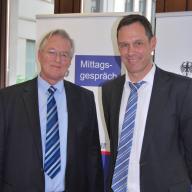 Prof. Dr. Mathias Jopp und Dr. Peter Ptassek