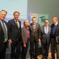 Mathias Jopp, Martin Schulze Wessel, Ursula Münch, Martin Weber, Stavros Kostantinidis und Walther Stützle