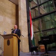 Empfang in der Botschaft von Ungarn (© Martin Pötzsch)