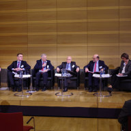 Mathias Jopp beim Panel zu den EU/Russland-Beziehungen (© Martin Pötzsch)