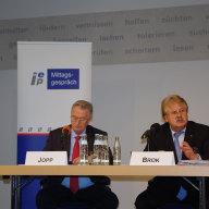 Mathias Jopp und Elmar Brok