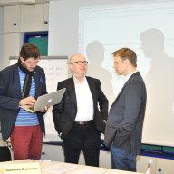 Sebastian Zeitzmann, Marco Wölfinger und Hans Beitz (v.l.n.r.)