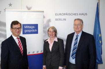 Mittagsgespräch Beate Grzeski - Institut für Europäische Politik 1