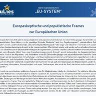 Hintergrundpapier EU System