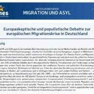 Hintergrundpapier Migration